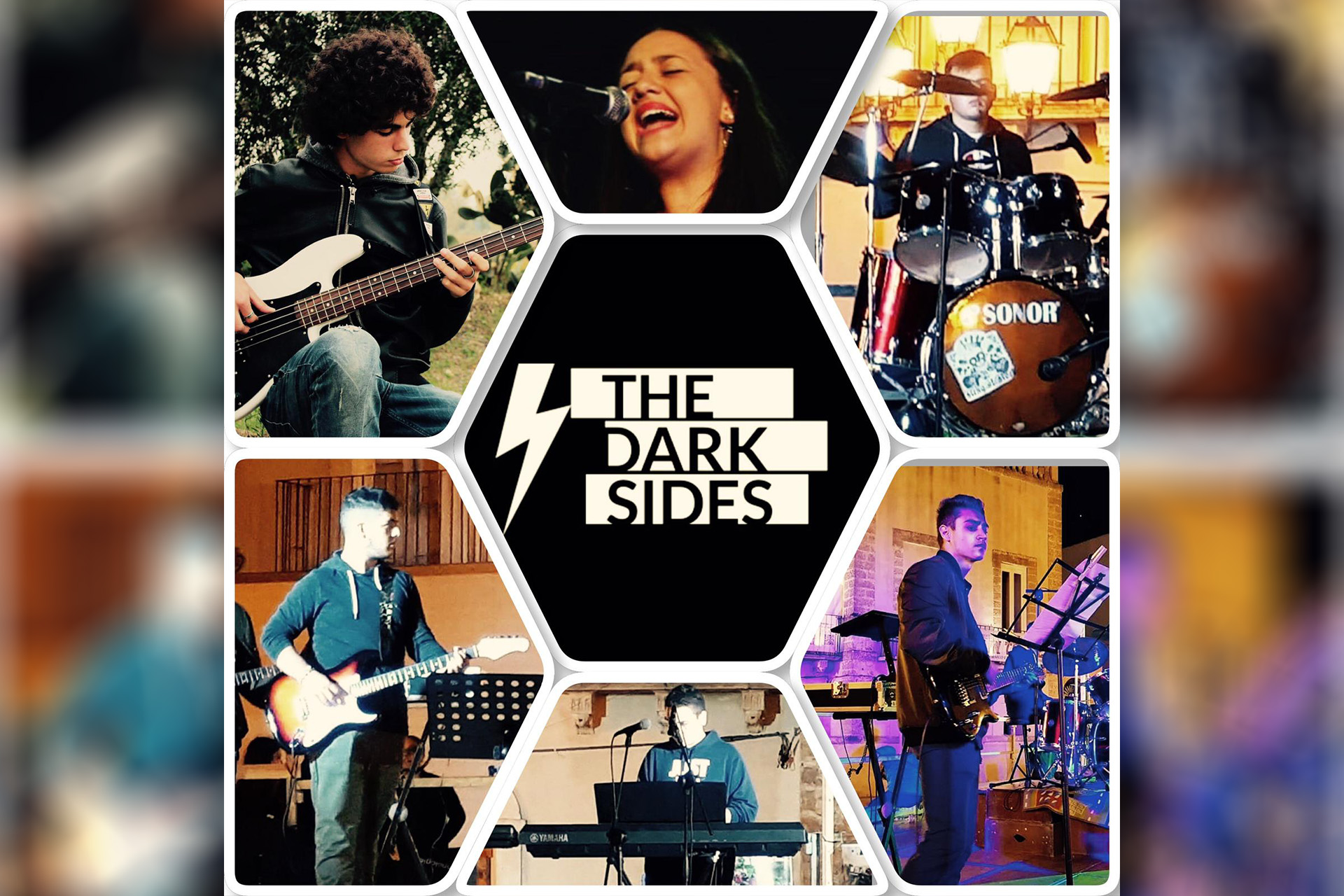 THE DARK SIDES IN CONCERTO